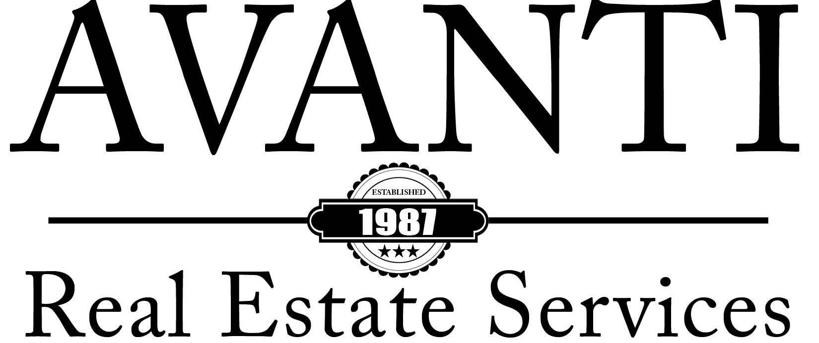 AVANTI Real Estate Services Type Style Logo - Copy